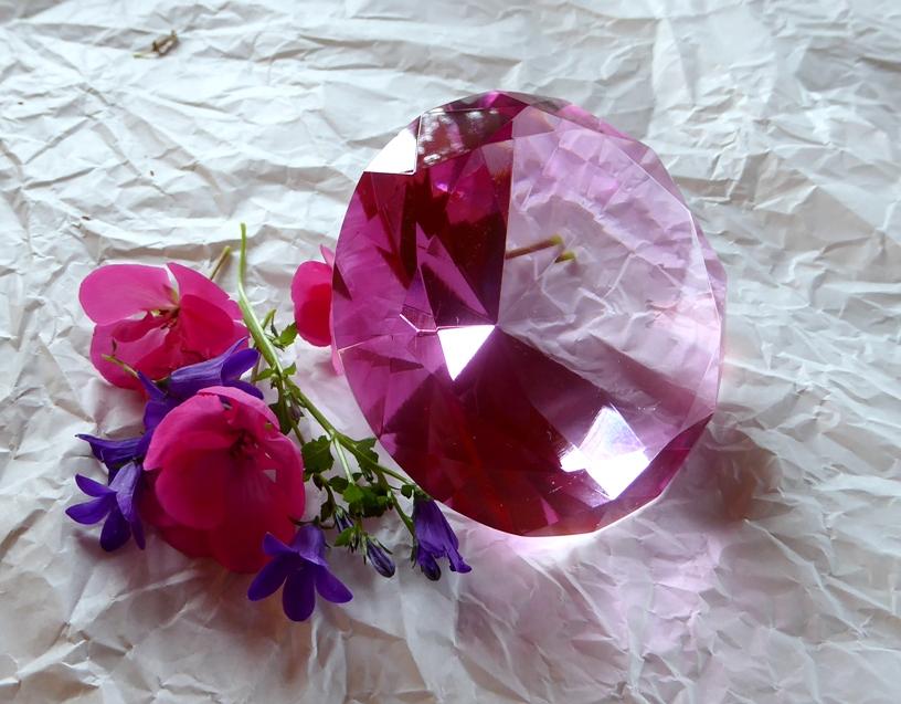 Lichtdiamant aus Glas