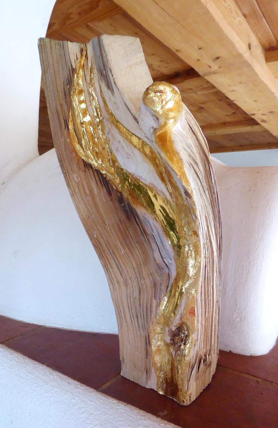 Grosser Schutzengel GOLD